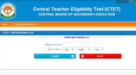 CBSE CTET 2016: Download the admit card @ctet.nic.in