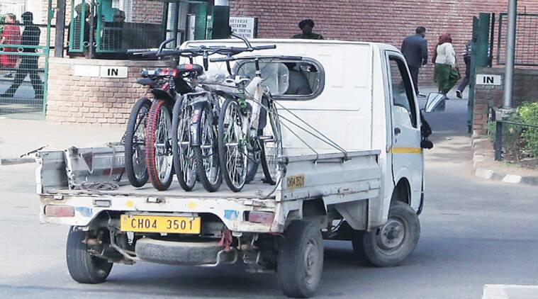 cycle-ride, cycle-ride to office, new year cycle-ride, odd-even car plan, chandigarh news