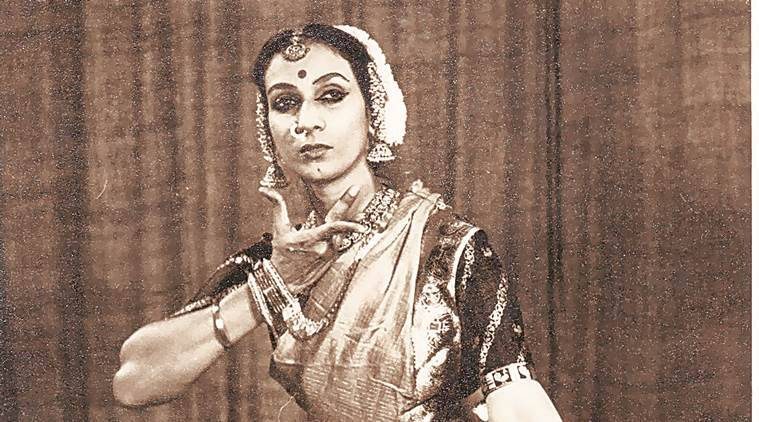dance, bharatnatyam, mrinalini sarabhai, dancer mrinalini sarabhai, mrinalini sarabhai passed away, indian express talk