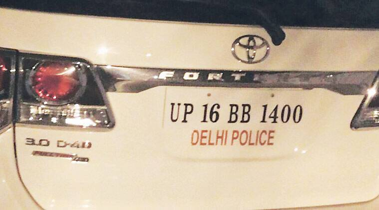 Man with Delhi Police 'sticker' on SUV poses as ACP before ...
