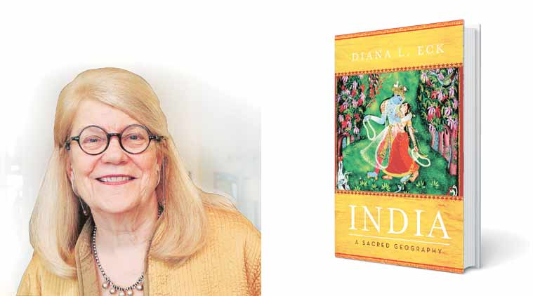 Diana L Eck,Comparative Religion and Indian Studies, scholar Diana L Eck,  India: A Sacred Geography and Banaras: City of Light, book, talk
