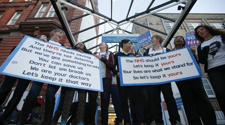 doctors in england, england doctors, england doctors go on strike, england doctors demand increase in pay, england doctors asks government for better pay, england doctors ask for better working condition, england news