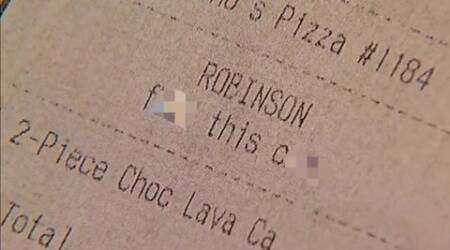 US woman receives vulgar note in Domino's Pizza receipt; vows to never eat there again