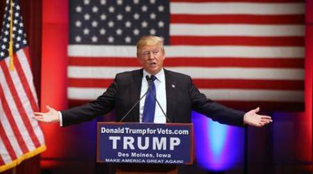 Donald Trump, Trump Indian-Americans, Indian-Americans, Donald Trump New Hampshire, Republican, presidential front-runner