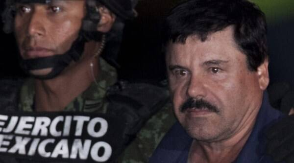 Mexico, drug kingpin, El Chapo, Joaquin 'El Chapo' Guzman, sons, el chapo sons, ambush, convoy attacked, Culiacan, detainee, Julio Ortiz, world news, indian express