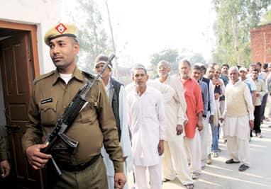 Haryana panchayat polls: 82% turnout in phase one