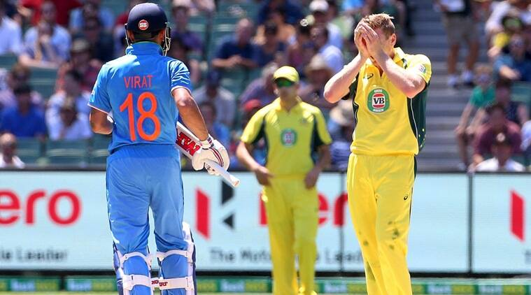 Virat Kohli, Kohli, India vs Australia, Ind vs Aus, James Faulkner, Faulkner, Australia vs India, Aus vs Ind, Virat Kohli vs James Faulkner, Kohli vs Faulkner, Cricket news, Cricket