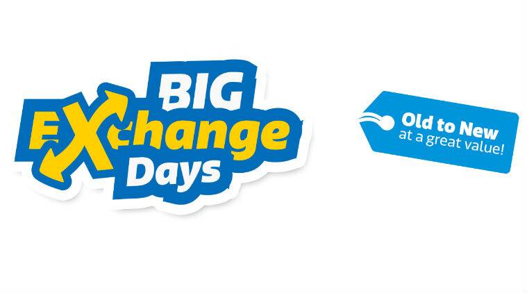 now exchange your old phones and tvs on flipkart every month