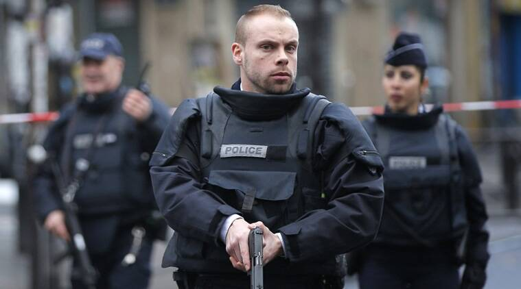 Charlie Hebdo, France attacker, Paris man shot, Paris man suicide vest, France man suicide vest, Paris news