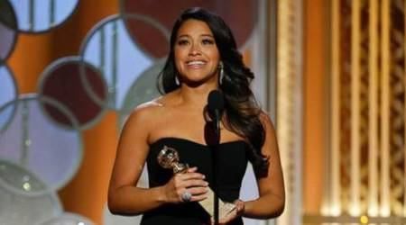 Gina Rodriguez offers Golden Globes dress to fan for prom