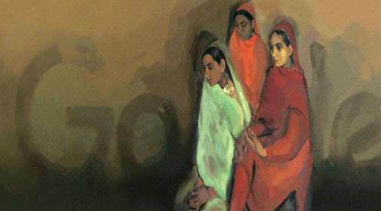 'Three girls' by Amrita Sher-Gil/ Screenshot