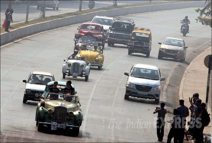Vintage car Rally, Vintage Car Rally Pics, Vintage cars Photos, Vintage Car Showcase, Vintage Cars, Classic car Rally, Classic car Rally Pics, Classic car Rally Photos, Kolkata, Mumbai