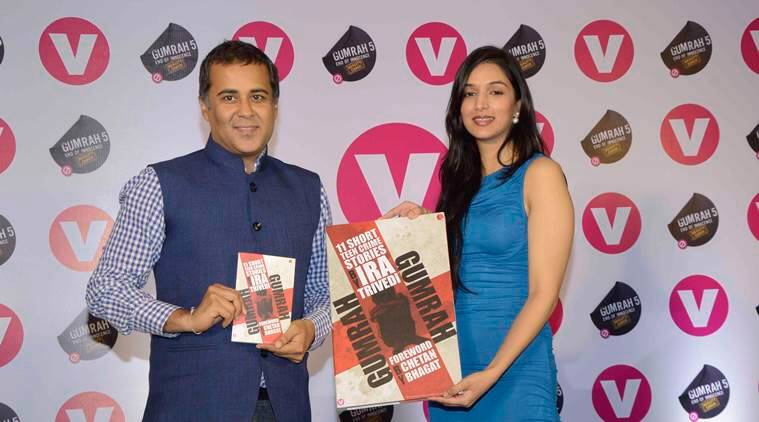 Gumrah, Gumrah: End of Innocence, Ira Trivedi, Gumrah book, Gumrah: End of Innocence news, Chetan Bhagat, Gumrah: End of Innocence book, Gumrah book launch, entertainment news