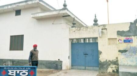 Gurdwara where first 'desecration' took place is locked, mostly