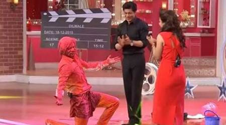 Sunil Grover, Shah Rukh Khan, Gutthi, Dilwale, Gerua, Comedy Nights with Kapil, Sunil Grover news, Kajol, dilwale song, entertainment news