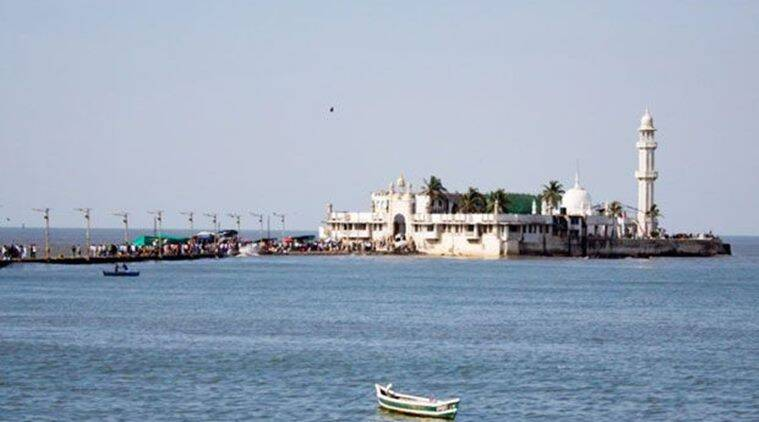 haji ali, haji ali dargah, beautification of Haji Ali, encroachment, bombay high court, bombay hc judgement, haji lai trust, indian express news, india news