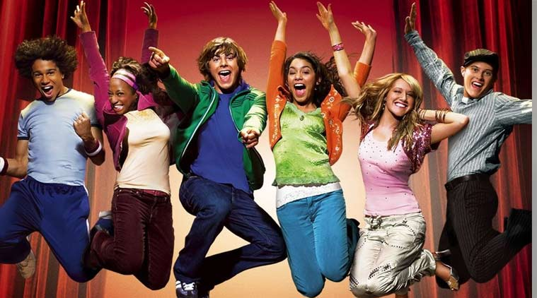 High School Musical, Zac Efron, Vanessa Hudgens, Ashley Tisdale
