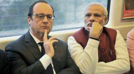 India, France, Narendra Modi, Francois Hollande, Rafale deal, Hollande in Metro, Hollande delhi metro, Hollande news, Modi news, Modi Hollande meet, Narendra Modi news, Modi news, India news