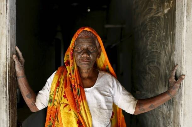 The tattooed rebels: Chhattisgarh's Ramnamis fight caste with full-bodied 'Ram Ram' tattoos