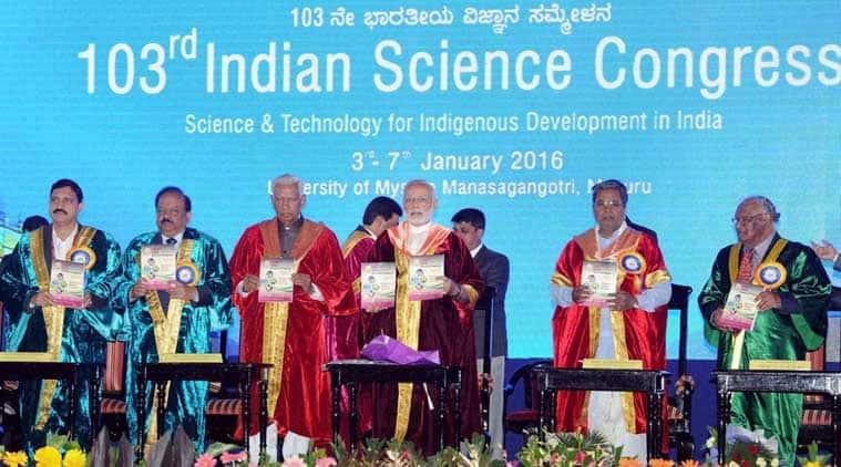 Karnataka governor, Vajubhai Rudabhai Vala, indian science congress