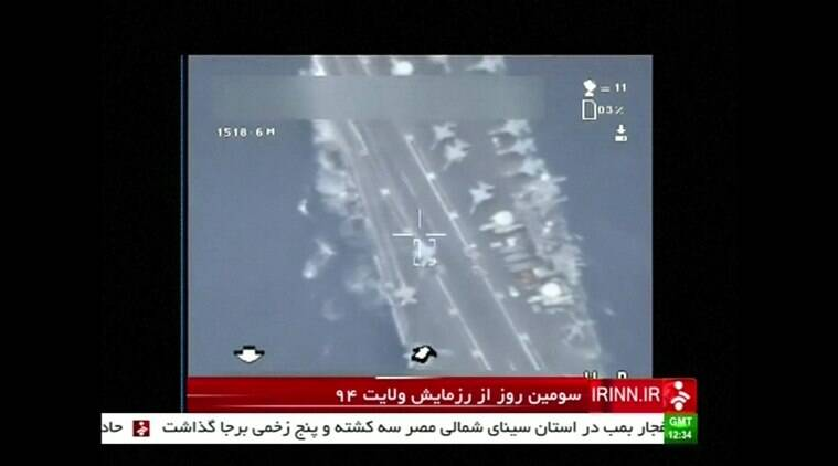Iran, Drone, military drone, US aircraft carrier, US aircraft carrier, iran military drone, US military drone, world news