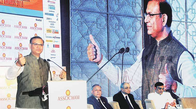 Union Minister of State for Finance Jayant Sinha in Mumbai on Friday.  PTI