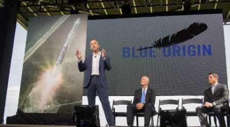 Jeff Bezos' space company Blue Origin successfully re-flies, lands rocket for second time