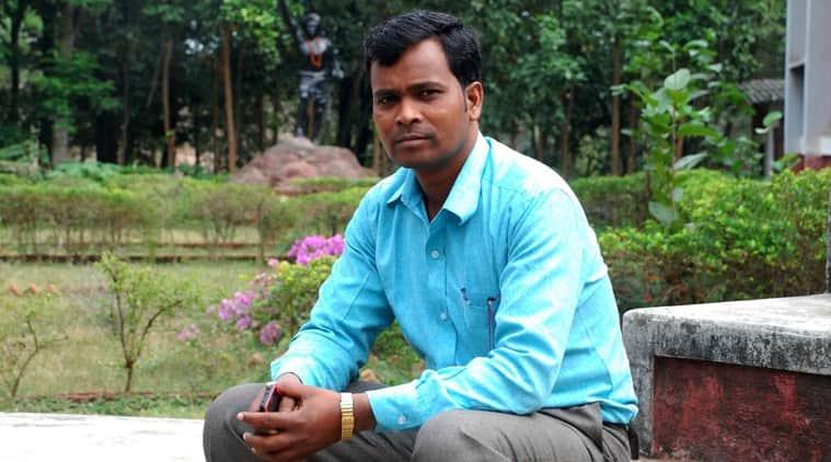 Activist Jiten Marandi (Photo: Manob Chowdhury)