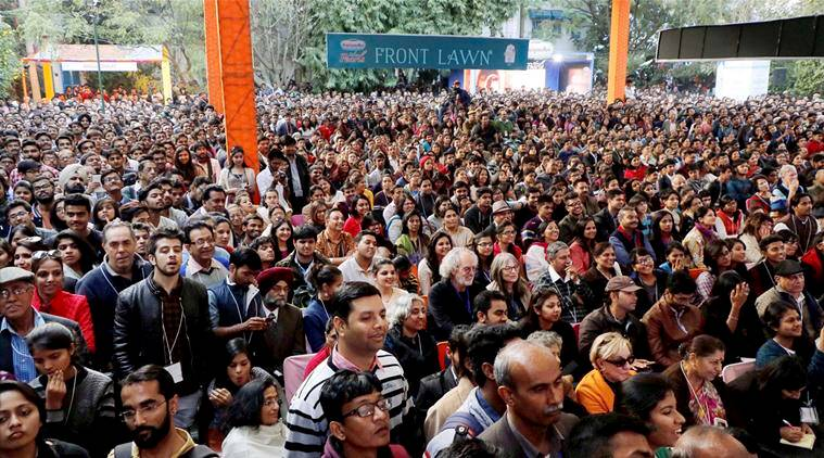 Jaipur Literature Festival,  Jaipur Literature Festival controversy, RSS invitation, RSS-communalism, BJP, RSS-BJP, intellectual discourse-Jaipur Literature Festival, India news, Indian Express
