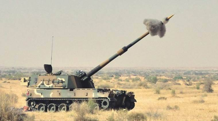 make in india, army to get made in gujarat howitzer guns, indian army howitzer guns, Howitzer artillery guns, indian express, gujarat howitzer guns, army to get first batch on howitzer guns