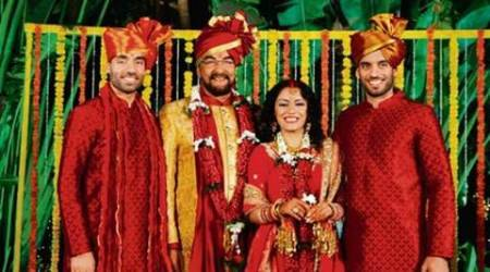 Kabir Bedi, Kabir Bedi Married, Kabir Bedi Parveen Dusanj, Parveen Dusanj, Kabir Bedi Fourth Wife, Kabir Bedi Wedding, Kabir Bedi Marraige, Pooja Bedi, Kabir Bedi Fourth Wedding, Kabir Bedi Birthday, Kabir Bedi Wedding Pics, Kabir Bedi Wedding photos, entertainment news