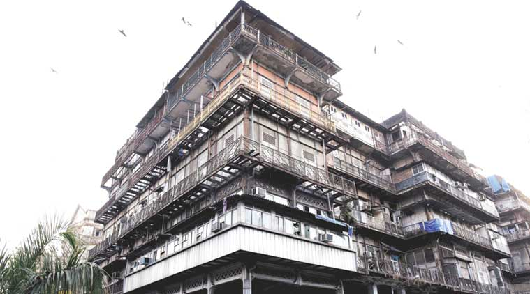 Mumbai news, Mumbai esplanade mansion, Mumbai Watson's Hotel, esplanade mansion demolition, esplanade mansion maintanance, Indian Express news