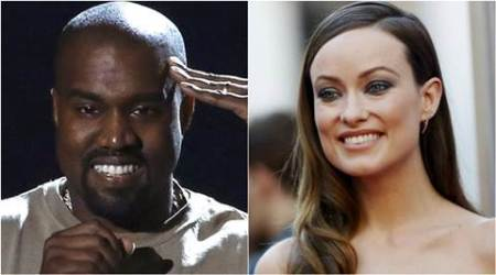 Olivia Wilde credits Kanye West for son's good sense ofrhythm