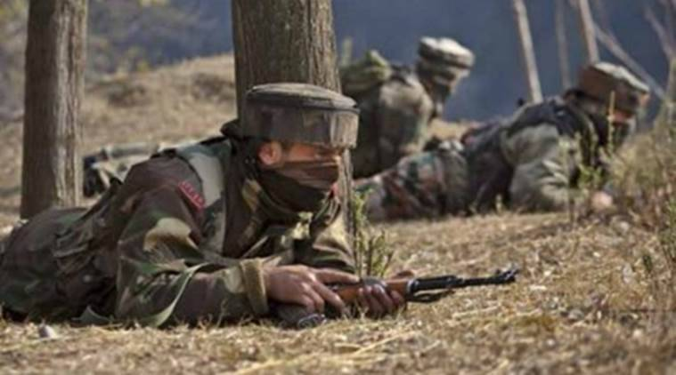 Image result for security personnel of kashmir