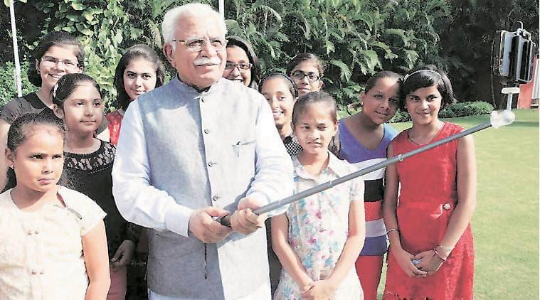 infant girls, haryana infant girls, republic day, republic day celebration, Haryana Education Department, india news