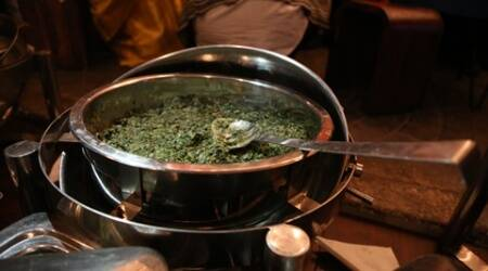 Bihu special: How to make Laai Xaak Khaar Pitha GuriDi