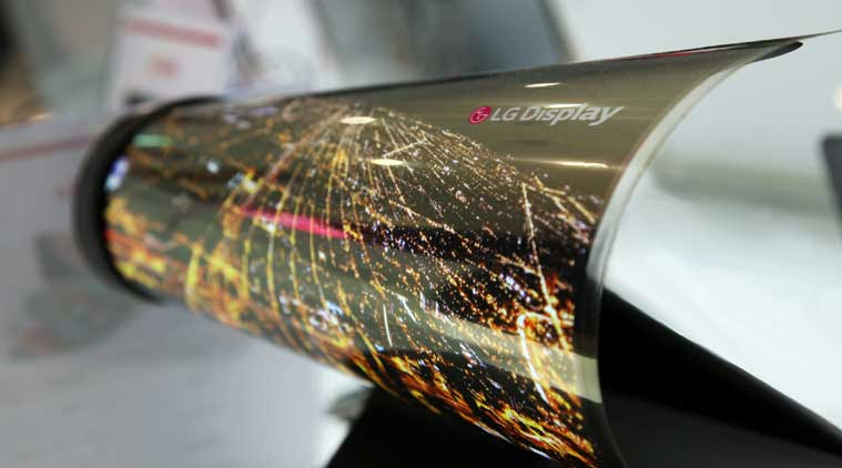 LG display, LG rollable display, LG CES 2016, CES 2016, CES 2016 display, LG Display, LG Foldable display, technology, technology news