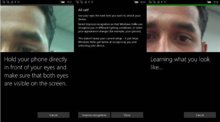Windows Hello is a more smoother setup than fingerprint recognition on iPhone or Android flagship but accuracy is lacking