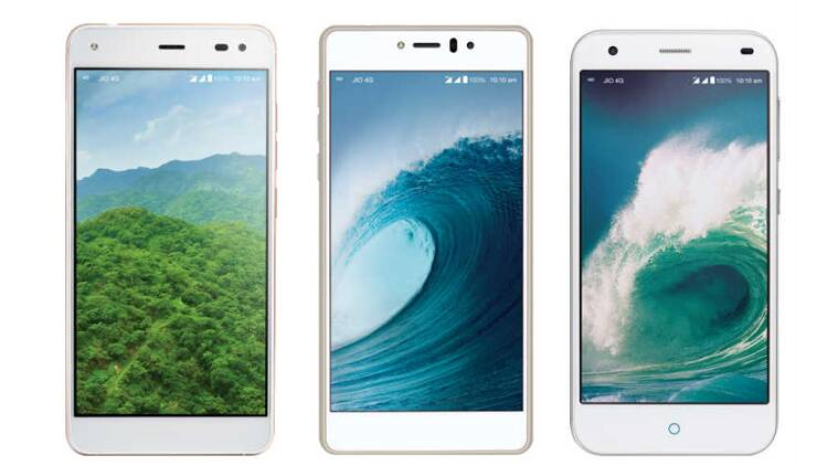 Reliance Jio 4G smartphones LYF Earth 1, LYF Water 1, LYF ...
