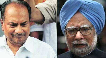 Troop Movement report row: Explain, BJP tells Antony and Manmohan Singh