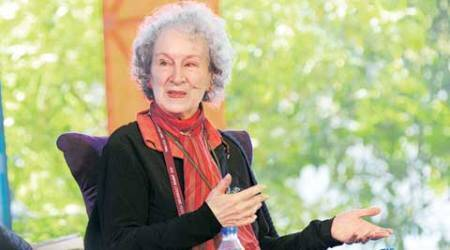 Margaret Atwood, Atwood in Delhi, Margaret Atwood IHC, The future library, the future library writers, Margaret Atwood in India