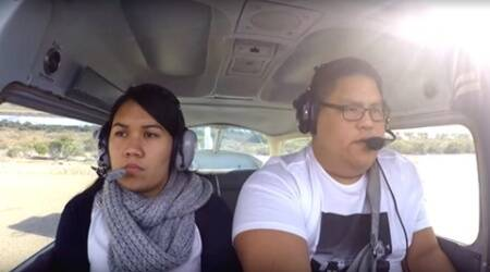 Watch: How this pilot faked a mid-air emergency to propose to his girlfriend