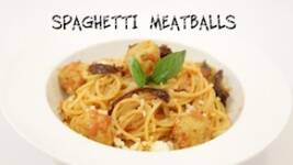 Foodi.e Plates: Spaghetti Meatballs From The Grande Fabio's Kitchen
