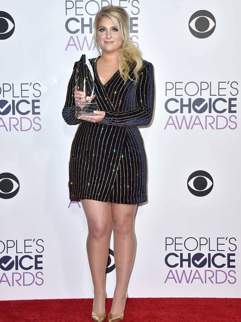 Meghan Trainor, Title, People's Choice Awards 2016