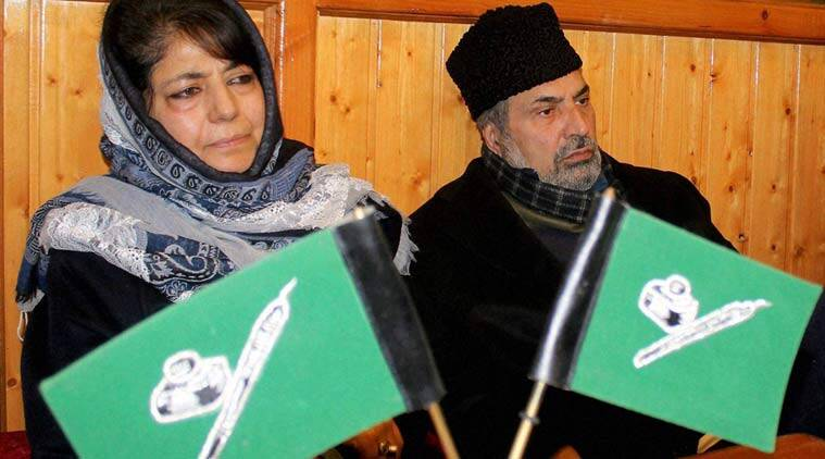 PDP, PDP kashmir, Mehbooba mufti, Mufti, mehbooba, Mehbooba in kashmir, government formation in kashmir, kashmir, jammu and kashmir, J&K, J&K government, government's rule in Jammu 7 kashmir, PDP chief, PDP chief Mehbooba Mufti, Chief Minister Mufti Mohammad Sayeed, BJP, Indo-pak relations, india news, jammu news