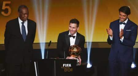 Messi, Lionel Messi, ballondor, FIFA Ballondor award, Lionel Messi, Messi FIFA ballondor, Messi ballondor winner, 2015 ballondor FIFA, Ballondor palyer of the year Messi, football news, sport news, latest news