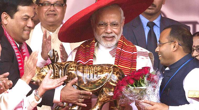 PM Modi, modi assam, assam modi,