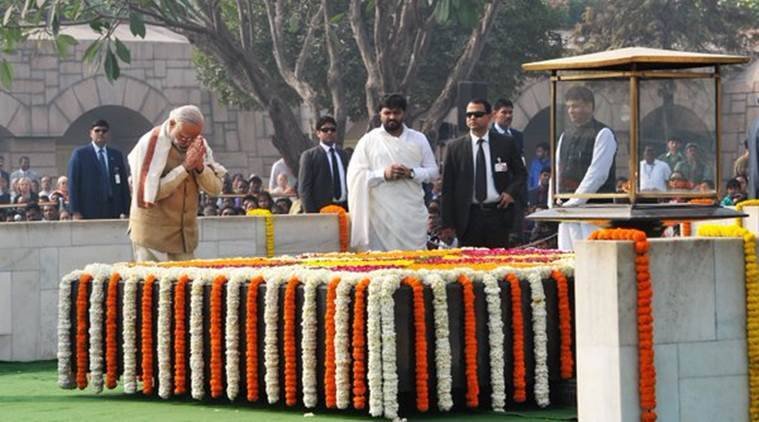 Narendra Modi, Mahatma Gandhi, Rajghat, Modi remembers Gandhi, Nathuram Godse, Gandhi death anniversary, martyr's day, soldiers day, Gandhi death day