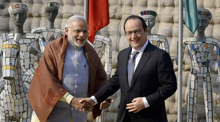 Narendra Modi, Francois Hollande, Rock Garden, Modi Hollande, Hollande chandigarh, chandigarh, nek chand, French President, Anuj Saini, india news