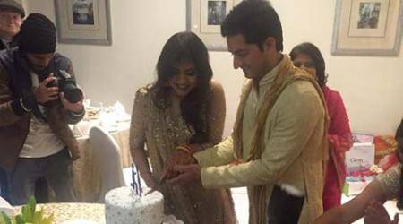Mohit Sharma gets engaged to girlfriend Shweta